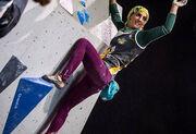 دختر سنگنورد ایرانی مدال برنز جهان را به گردن آویخت