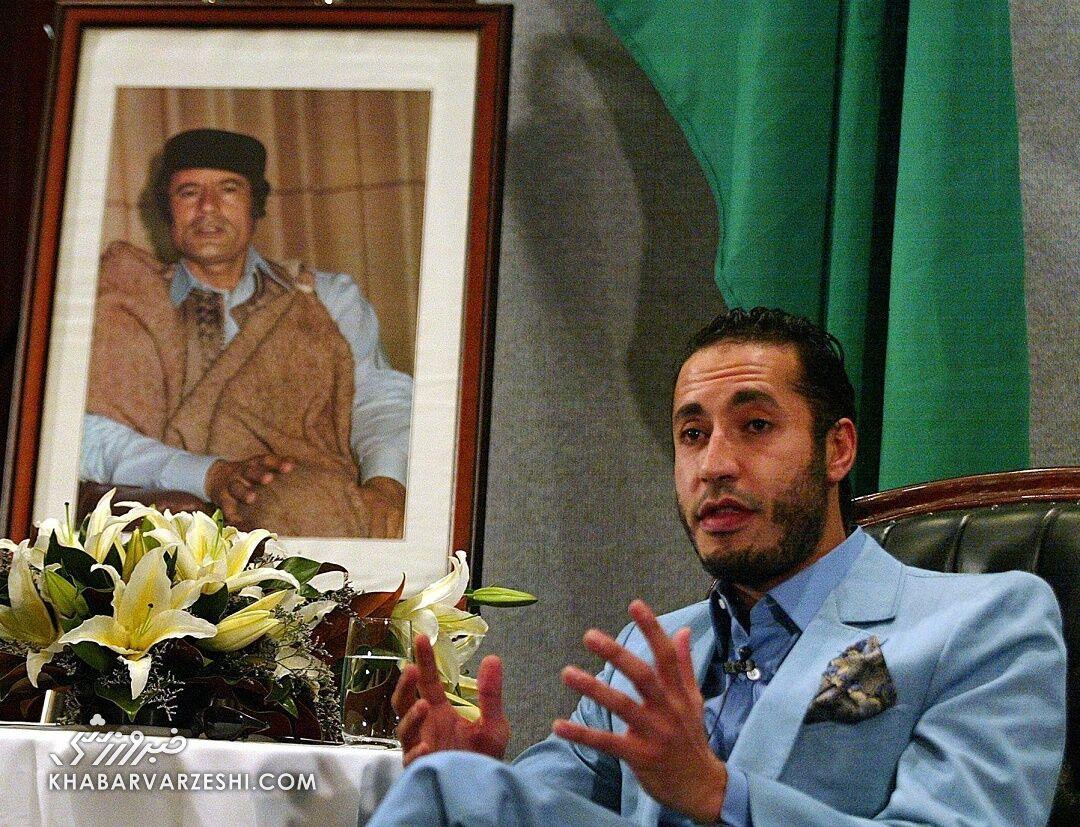 الساعدی القذافی