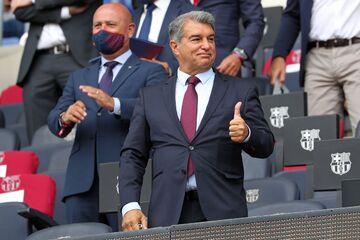 خبر خوب لاپورتا برای هواداران بارسلونا/ شاید مسی برگردد