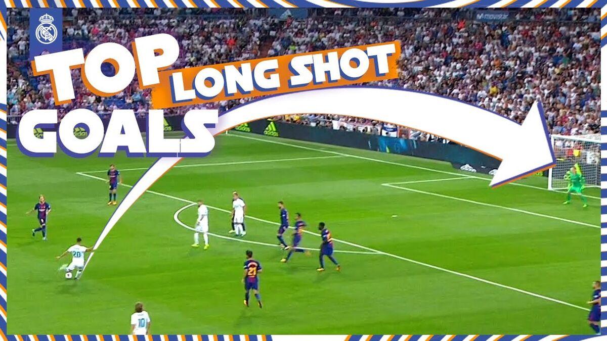 ویدیو  بهترین گل های از راه دور رئال مادرید