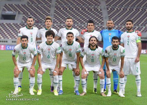 عکس تیمی عراق؛ عراق - ایران