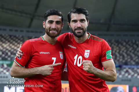 علیرضا جهانبخش و کریم انصاریفرد؛ عراق - ایران
