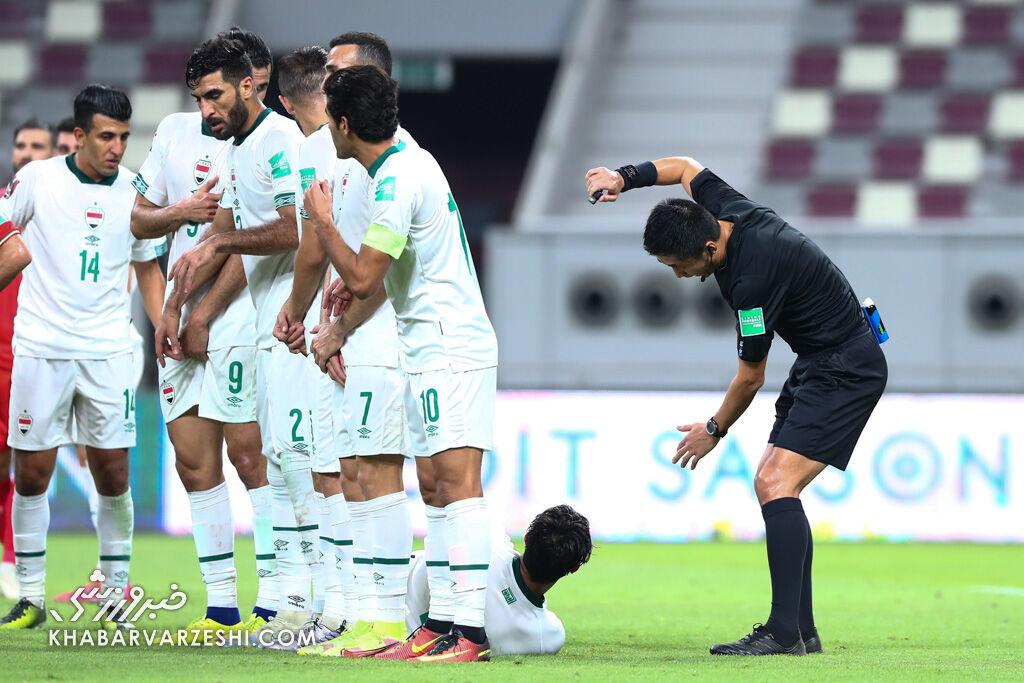 یک آمریکایی قربانی بازی تیم ملی ایران و عراق