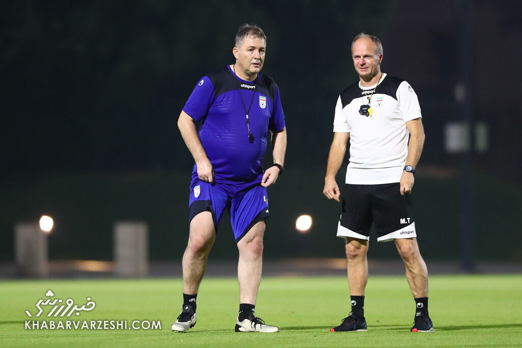 اسکوچیچ: با حضور کی روش و ویلموتس فشار عجیبی را تحمل کردم/ بعد از جام جهانی می توانم به پیشنهاداتم فکر کنم