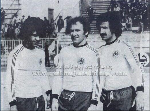 عکس| سه گلزن فراموش نشدنی فوتبال ایران در یک قاب
