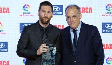 حمله رئیس لالیگا به رؤسای بارسلونا و رئالمادرید/ جدایی مسی تقصیر باشگاه است