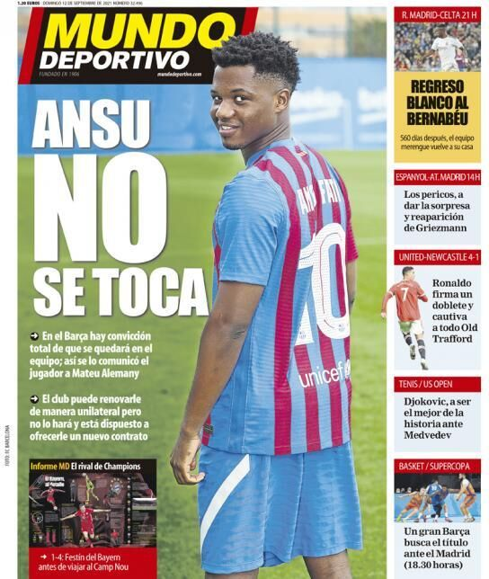 روزنامه موندو| آنسو، دست نزن