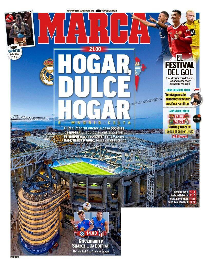 روزنامه مارکا| هیچجا خونه نمیشه