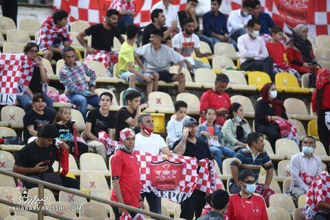هواداران پرسپولیس؛ استقلال تاجیکستان - پرسپولیس