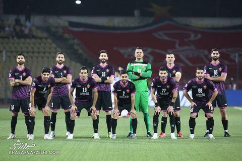 عکس تیمی پرسپولیس؛ استقلال تاجیکستان - پرسپولیس