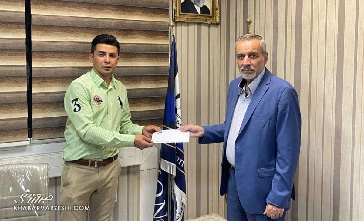 عکس  یک استقلالی عضو کمیته استعدادیابی هیئت فوتبال تهران شد
