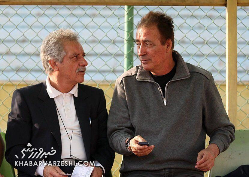 منصور پورحیدری و ناصر حجازی