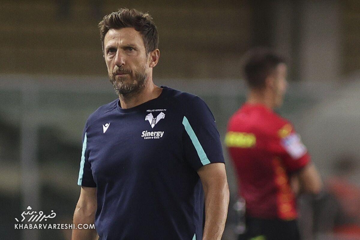 مربی تیم ایتالیایی بعد از ۳ بازی اخراج شد!