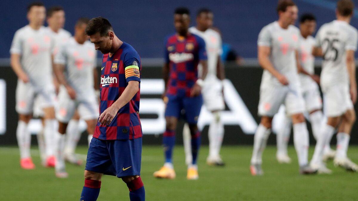 ویدیو  به بهانه دیدار امشب در لیگ قهرمانان اروپا؛ بارسلونا ۲-۸ بایرن مونیخ