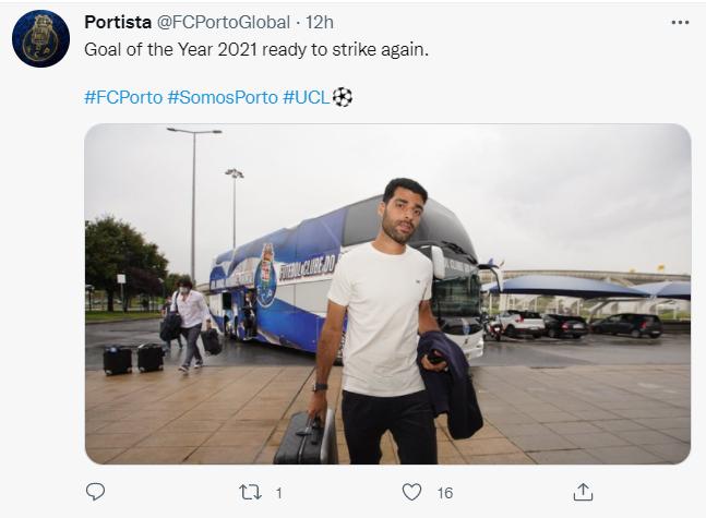 عکس  واکنش زیبای صفحه هواداران پورتو به ورود طارمی به مادرید