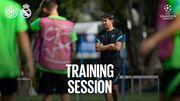 ویدیو  تمرینات آماده سازی اینتر پیش از دیدار برابر رئال مادرید