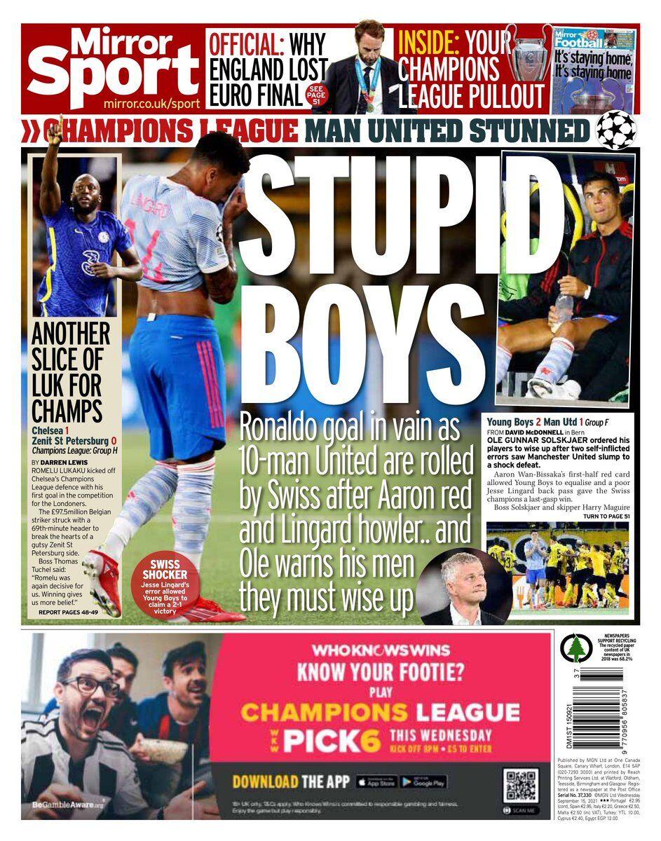 روزنامه استار  پسرهای احمق