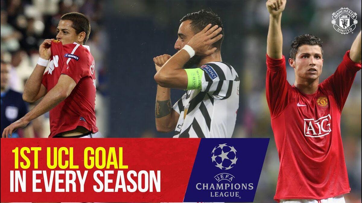 ویدیو| نخستین گل شیاطین سرخ در هر فصل لیگ قهرمانان اروپا