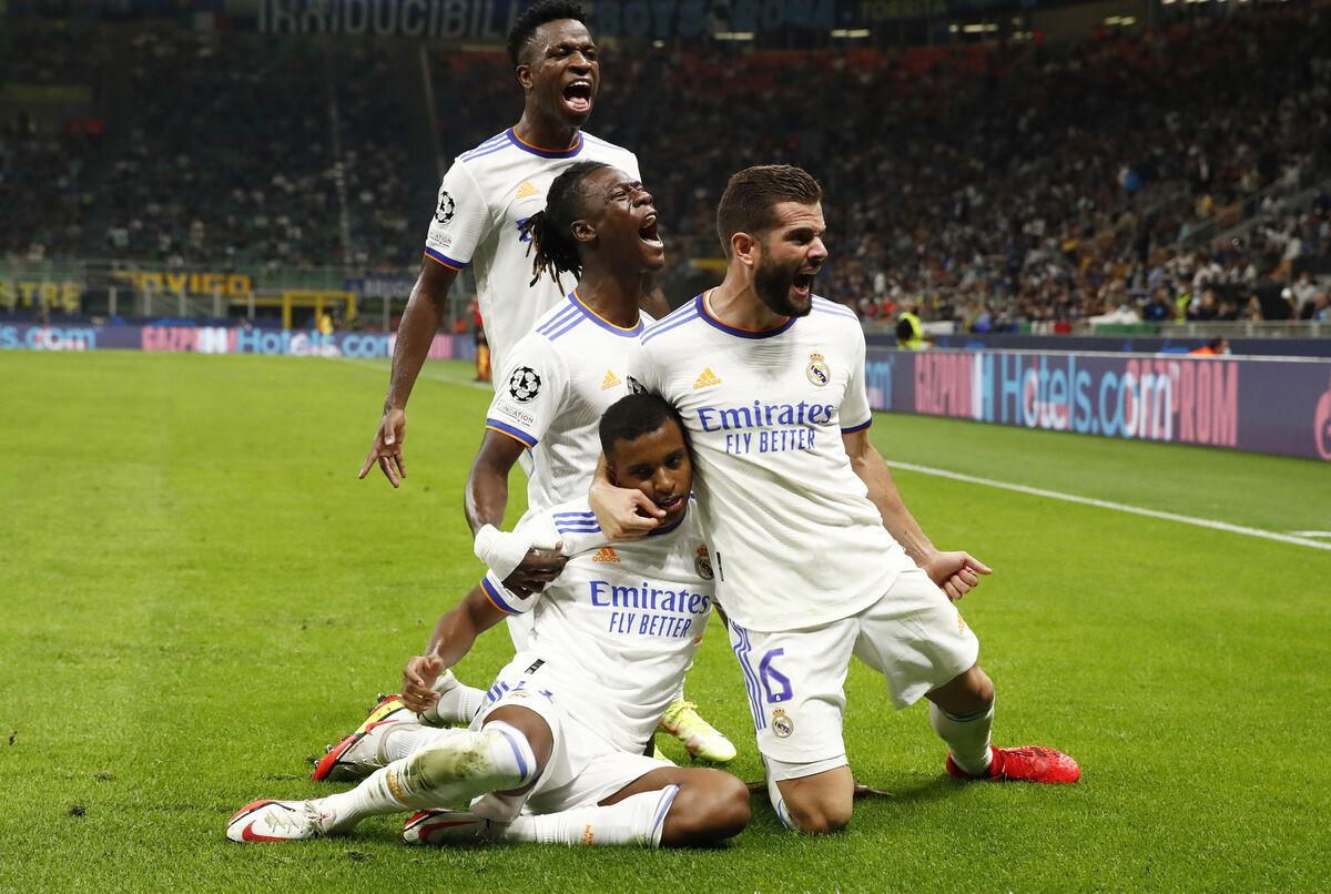 ویدیو  خلاصه بازی اینتر ۰-۱ رئال مادرید