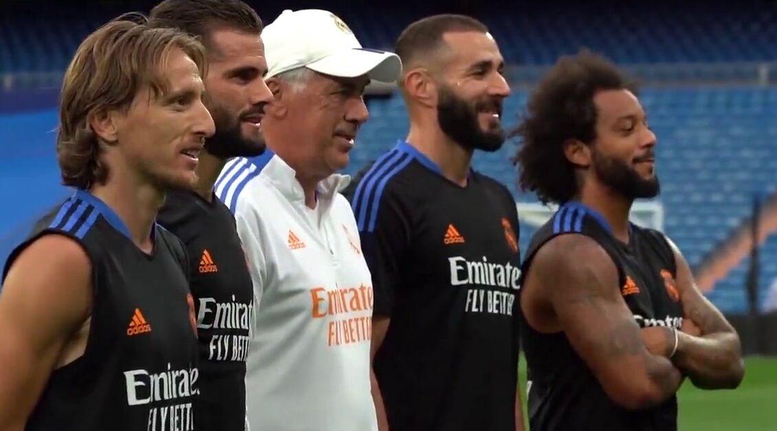 ویدیو  تمرینات رئال مادرید پس از برتری مقابل اینتر