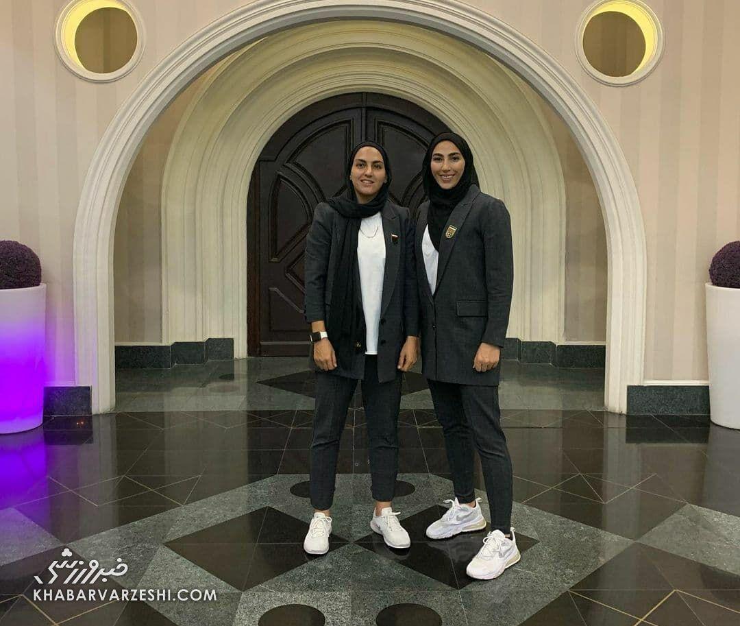 تصاویر| دستور تغییر این لباس دختران فوتبالیست صادر شد/ وزارت ورزش هم این کت و شلوار زنانه را نپسندید!