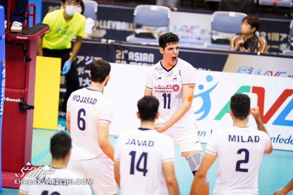 تیم ملی والیبال ایران راهی فینال شد/ در انتظار جدال جذاب با ژاپن