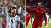 ویدیو| هتریک های مسی و رونالدو در مسابقات ملی