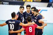 ۵ ایرانی در بین برترینهای والیبال آسیا