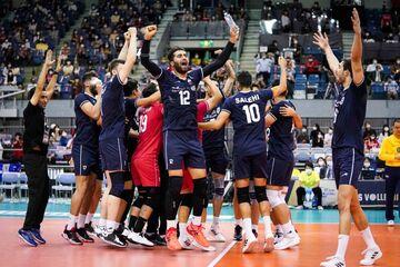 گزارش تصویری| قهرمانی والیبالیستهای ایران در آسیا با شکست ژاپن