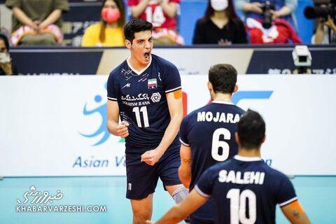 والیبال ایران - ژاپن (فینال والیبال قهرمانی آسیا 2021)