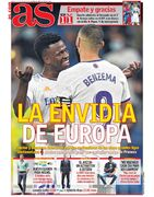 روزنامه آ اس| حسادت اروپا