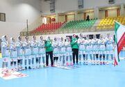ایران ۳۸ - سوریه ۱۹/  تیم هندبال زنان ایران تاریخ ساز شد