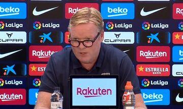 کنفرانس خبری عجیب سرمربی بارسلونا/ کومان بیانیه خواند!/ باشگاه از من حمایت میکند