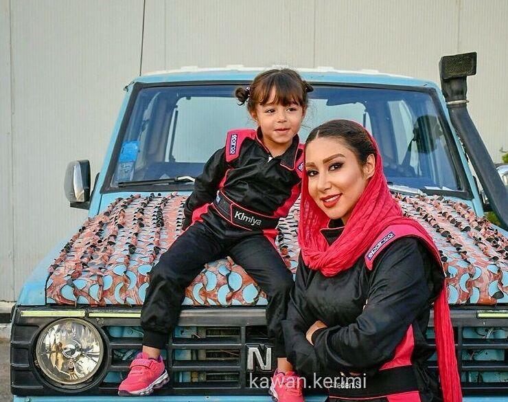 بانوی اول آفرود ایران را ببینید و بشناسید/ رقبایم ماشینم را دستکاری میکردند/ بچه به بغل آفرود کردم تا شد دختر طبیعت/ با ارشا اقدسی قرار آفرود داشتم!