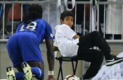 ببینید| وحشت پسر بچه از شادی عجیب گومیس/ واکنش بازیکن الهلال پس از بازی