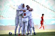 رونمایی از ترکیب تیم ملی فوتبال زنان ایران برای بازی سرنوشت ساز مقابل اردن