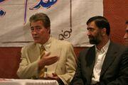عکسی جالب از اسطوره استقلال با کراوات در کنار سردار آجرلو
