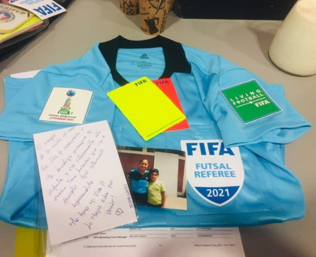عکس| ماجرای استوری عجیب داور زن جام جهانی فوتسال