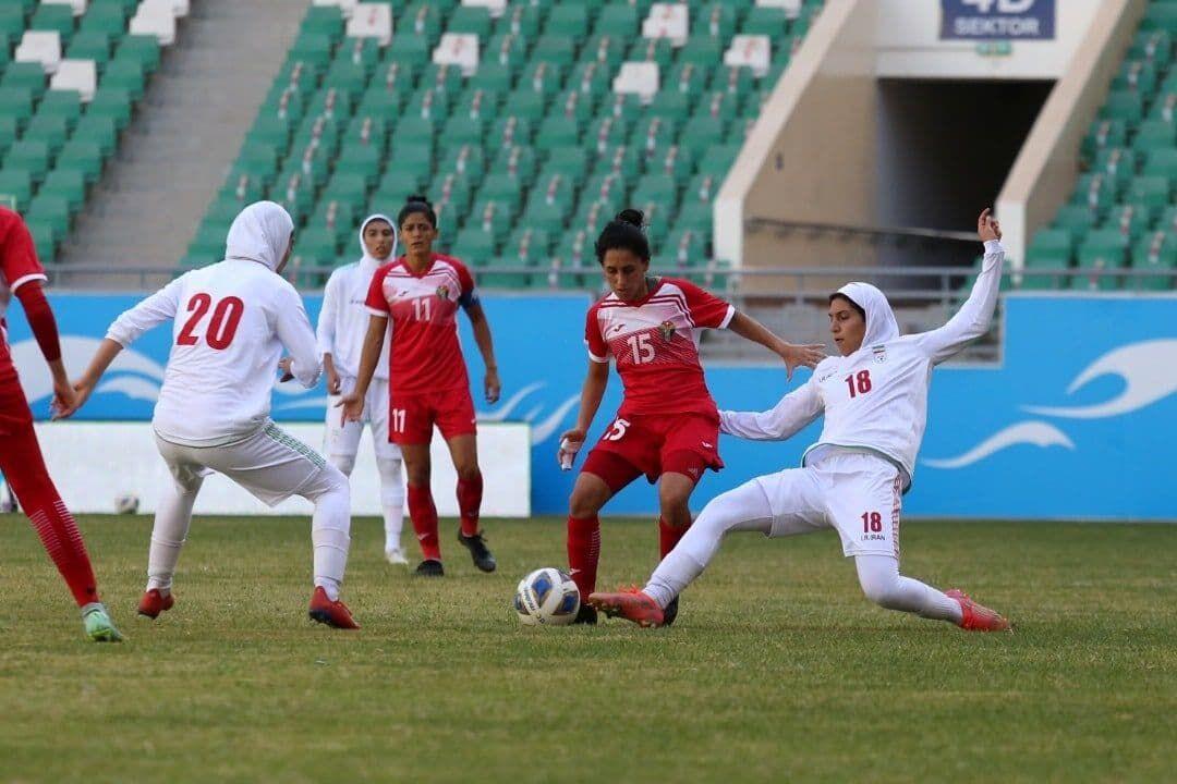 ویدیو| صعود شیرین تیم ملی فوتبال بانوان ایران به جام ملتهای آسیا