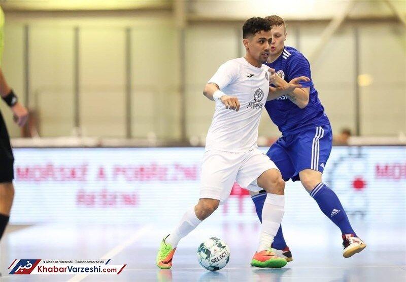 ویدیو| حسین طیبی در بازی مقابل قزاقستان هم غایب است