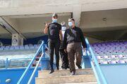 دو تصویر از مصطفی آجرلو با مدیران جنجالی باشگاه استقلال