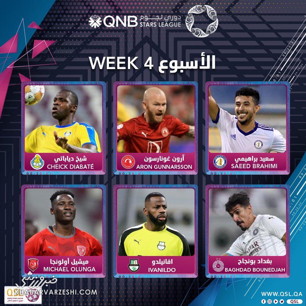 عکس| مهاجم سابق استقلال نامزد بهترین بازیکن هفته قطر شد