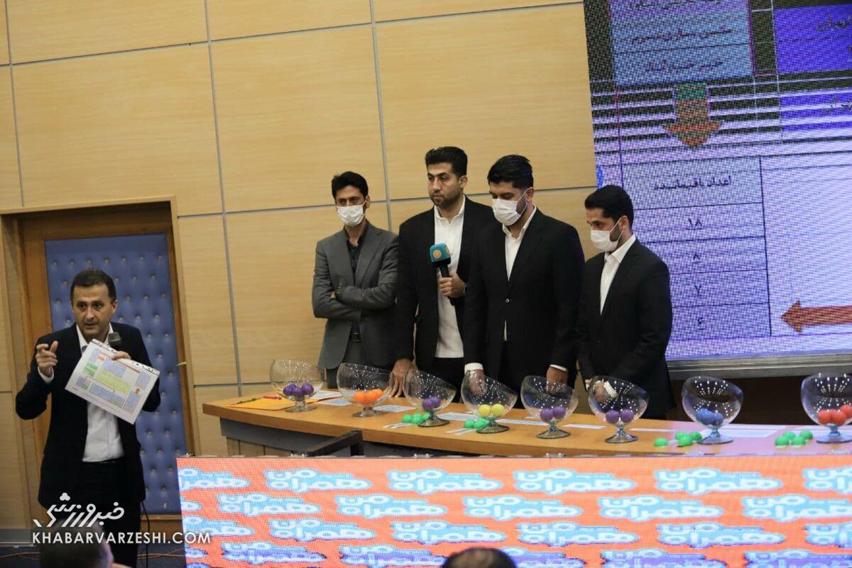 قرعه کشی لیگ آزادگان برگزار شد/ تقابل دو قهرمان ایران در هفته نخست
