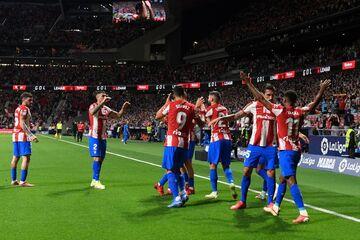 اتلتیکومادرید ۲ - بارسلونا ۰/ ضربه نهایی به بارسا؛ کومان اخراج میشود؟