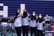 ببینید| لحظه شادی دختران تاریخساز تیم والیبال زنان سایپا؛ افتخارآفرینی بعد از ۵۴ سال