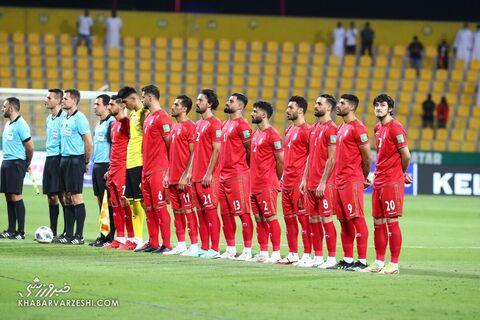 عکس تیمی ایران؛ امارات - ایران