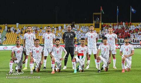 عکس تیمی امارات؛ امارات - ایران