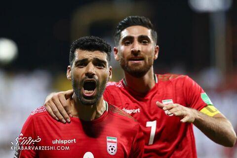 شادی گل مهدی طارمی؛ امارات - ایران