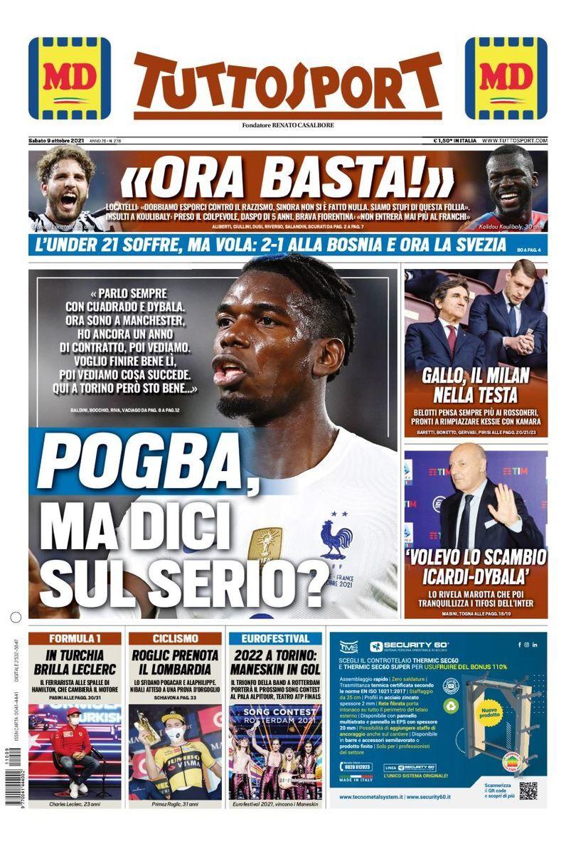 روزنامه توتو| پوگبا، تو جدی میگی؟