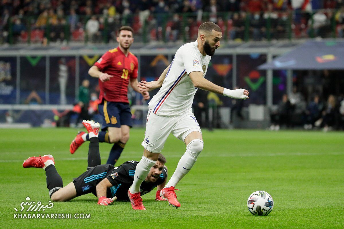 اسپانیا - فرانسه (فینال لیگ ملتهای اروپا 2021)